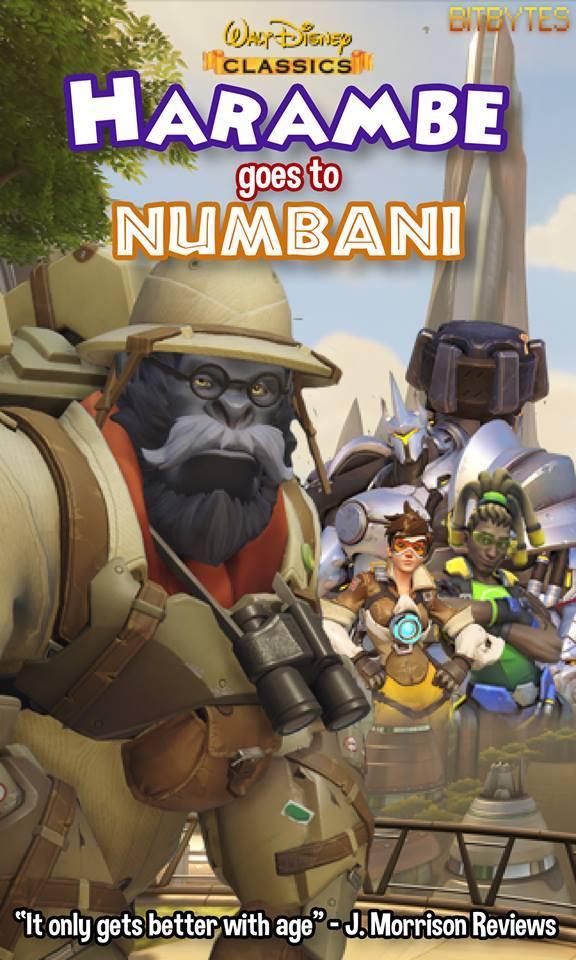 Harambe Goes To Numbani OverwatchMemes