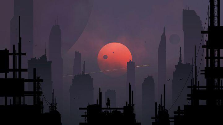[1920×1080] Old city