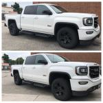 Before After Rough Country 2in Leveling Kit Amazing How Much Better It Looks For 50 Bucks And About An Hour Of Time Trucks