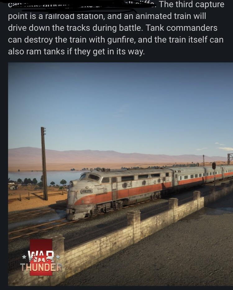 This Will Be Interesting A Working Train Warthunder