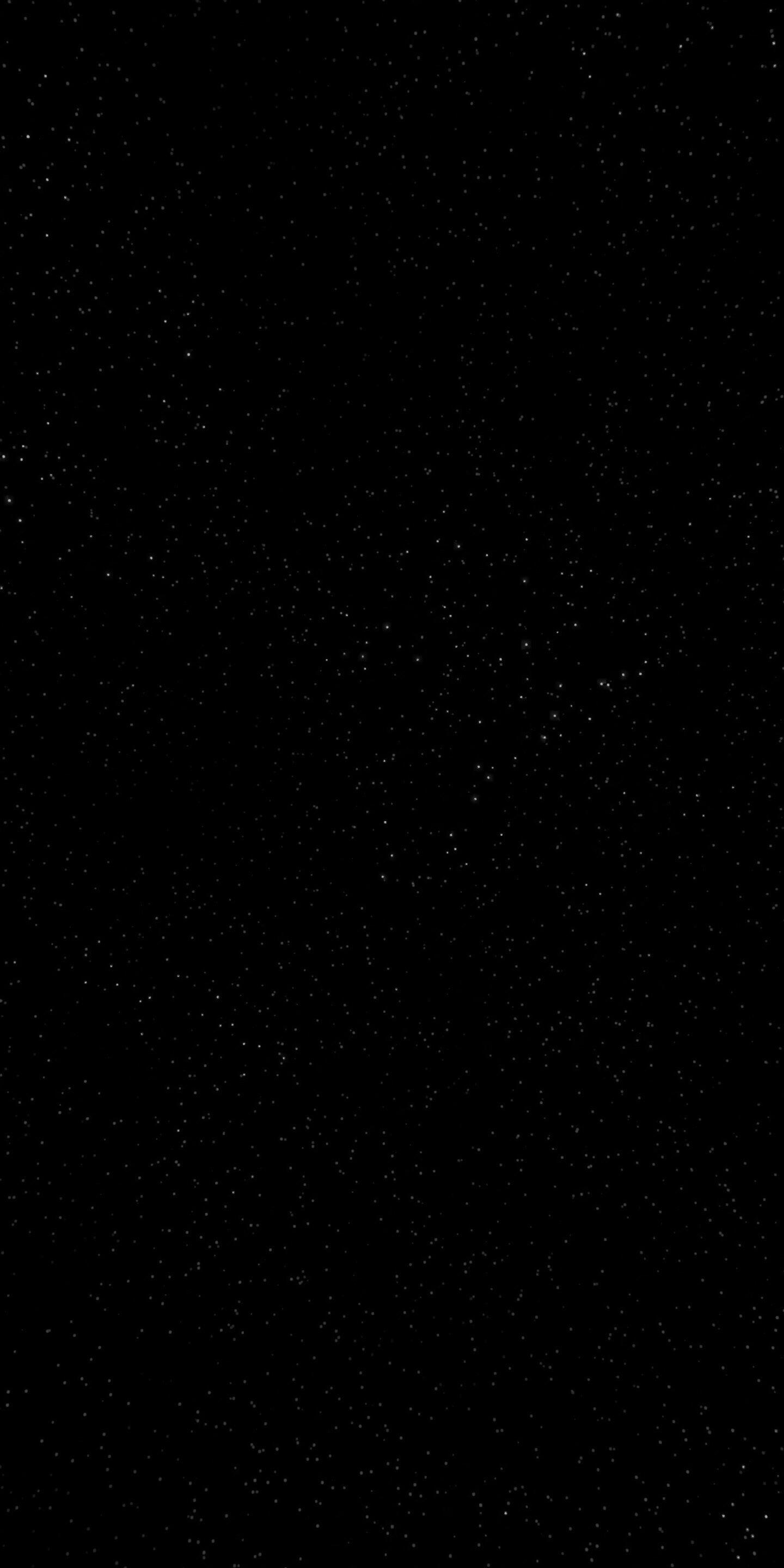 So I Wanted A Black Wallpaper For My Iphone X But Found True Black Too Boring This Is What I Found I Think It S By Far The Cleanest And Best Looking Star