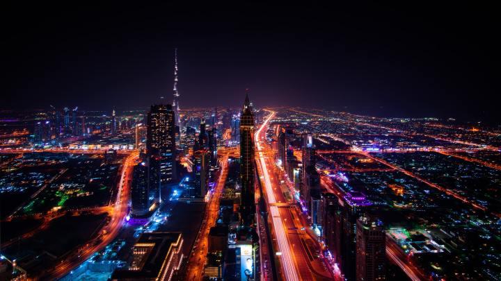 Dubai Skyline [3840×2160]
