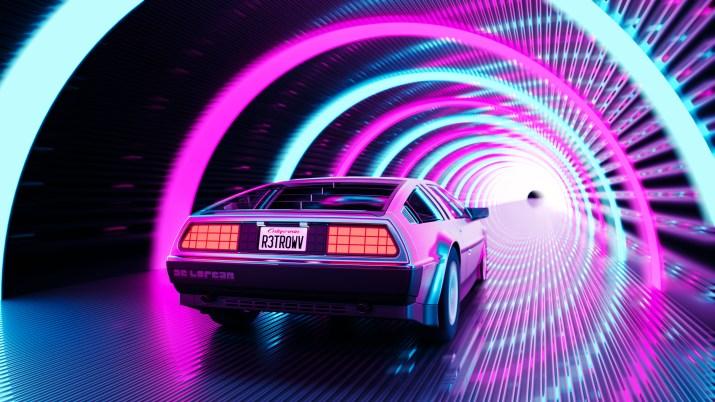 DeLorean [3840×2160]