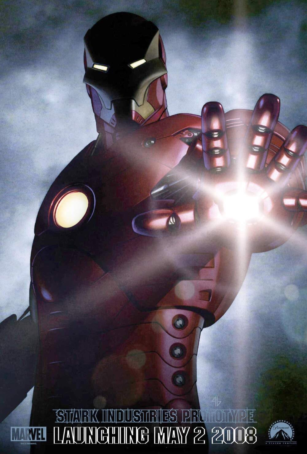 first ever iron man poster from 2006