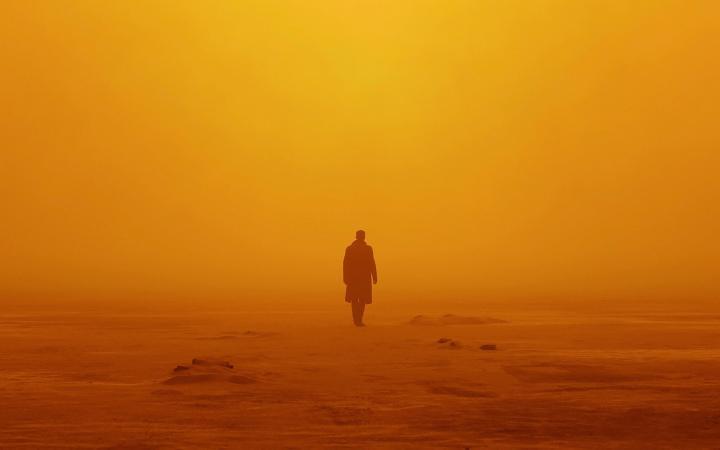 [3840×2400] Vastness of Orange (Blade Runner)