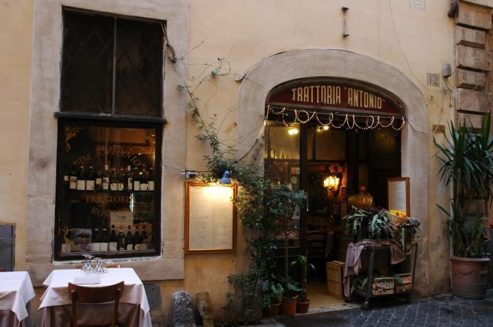 Trattoria Antonio Sant'Eustachio, Rome (Photo credit to Stefano Vigorelli) [3008 x 2000]
