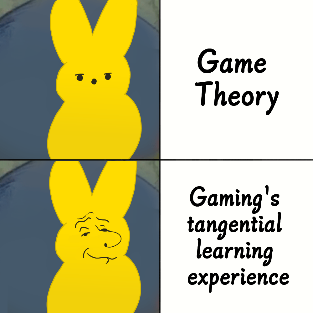 I Made A New Meme Template And I Am Filled With Regret Gametheorists