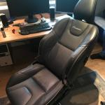 My Brother Built A Gaming Chair Out Of A Volvo Car Seat Pcmasterrace