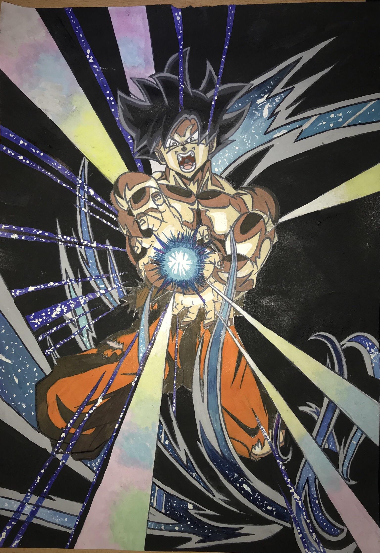 A Late Christmas Present Sketchwatercolour Of Goku UI