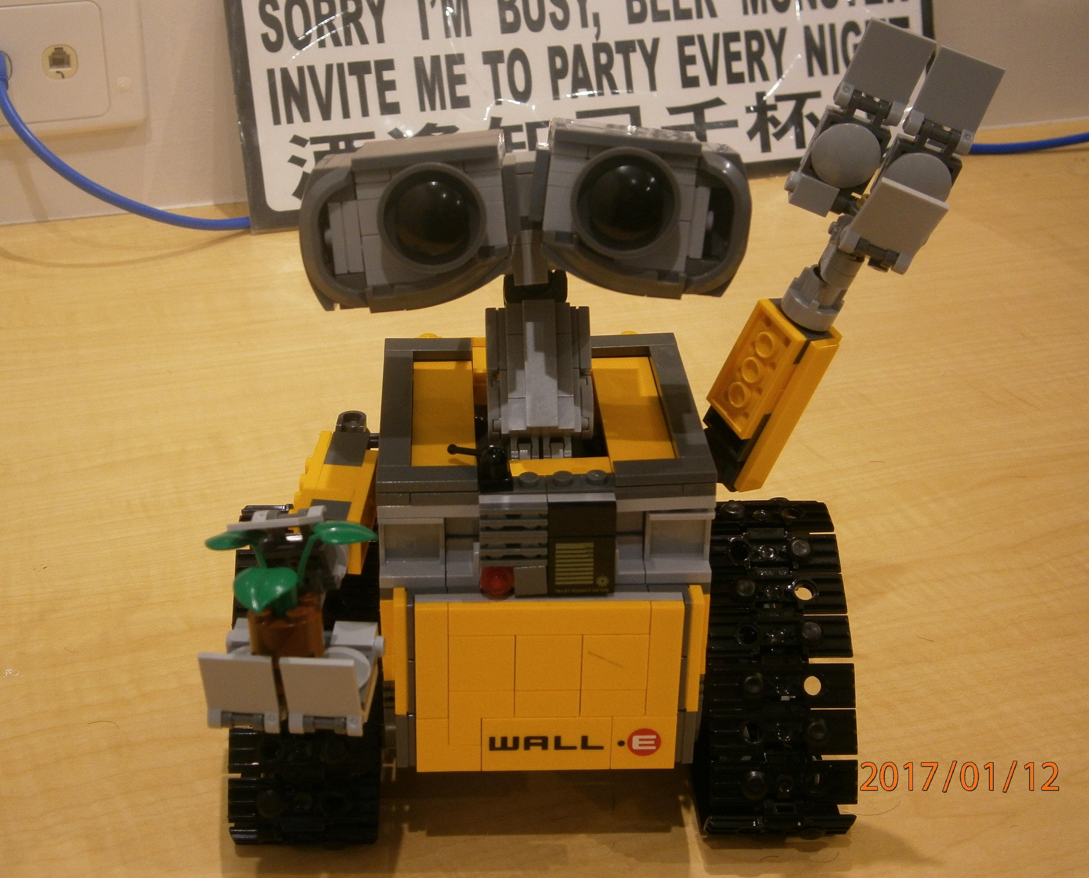 Lepin Wall E Copy Of Lego Wall E Review Lepin