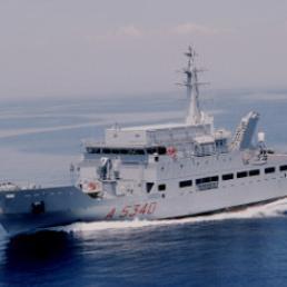 Per la prima volta dalla Guerra Fredda, una nave «spia» italiana in missione nel Mar Nero