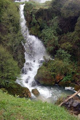 Водопадът Марморе - италианското чудо