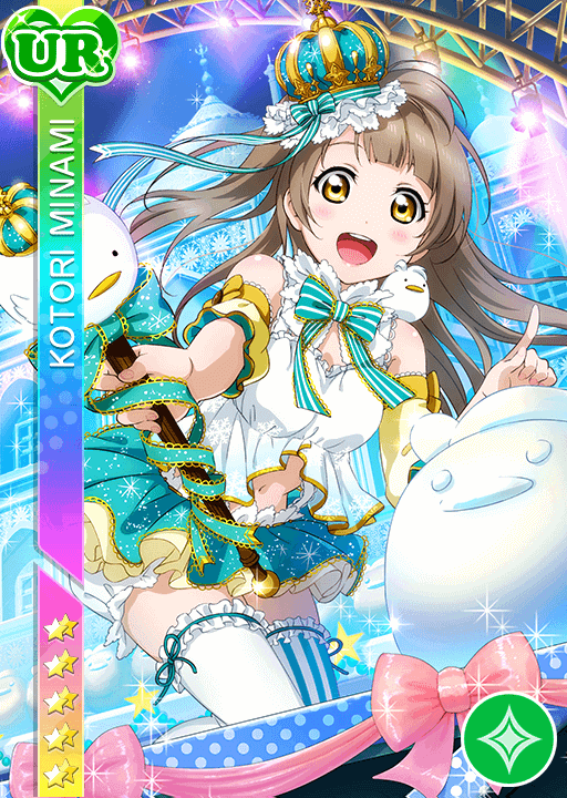 Image result for snowbird kotori UR love live