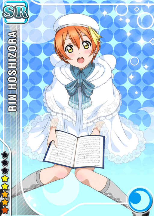 School Idol Tomodachi Cards Album 741 Hoshizora Rin SR