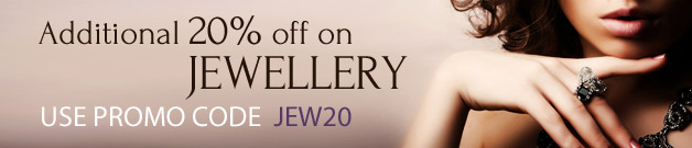 Get Additional 20% OFF On Jewellery