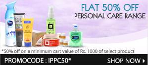 Personal Care Range. Promocode-IPPC50
