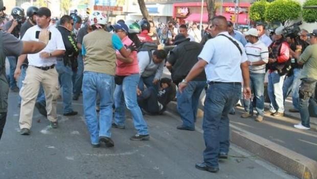 Denuncian ante el MP detenciones realizadas por civiles en marcha del 2 de octubre