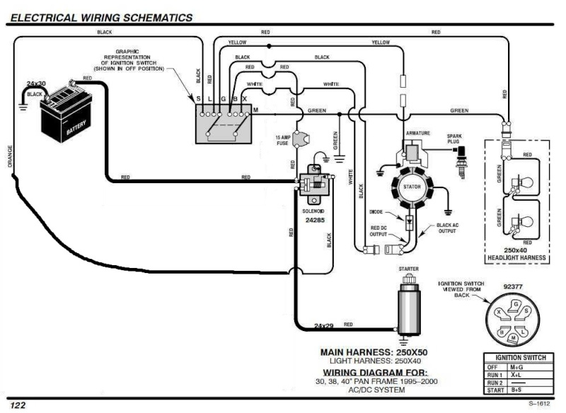 14 5hp Briggs And Stratton Wiring Diagram. Wiring. Wiring
