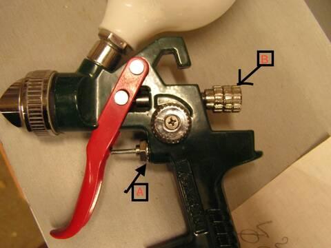 pistolet a peinture parkside pdfp500 c3