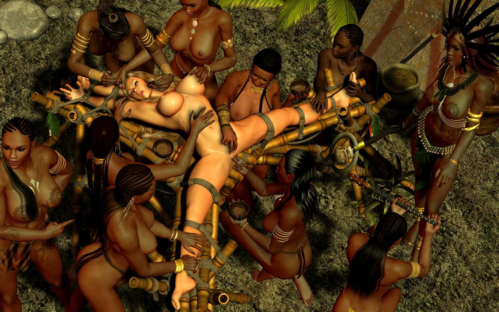 naked tribal girls fuck