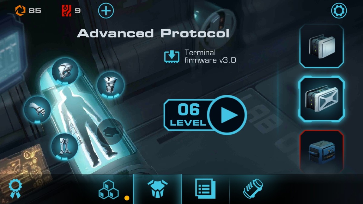 Vector 2 advanced protocol unlocked level 6