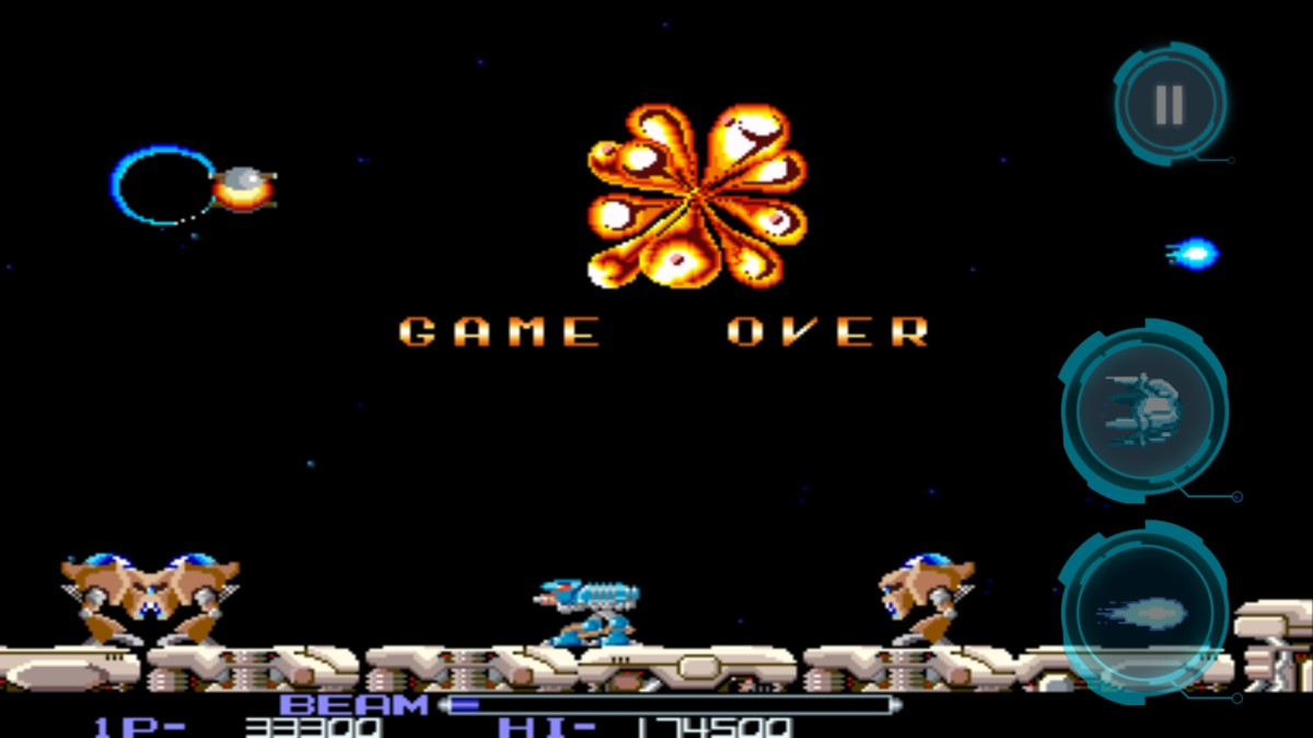 Game over R-Type