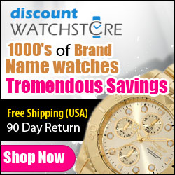 Tremendous Savings with Free Shipping at DiscountWatchStore.com
