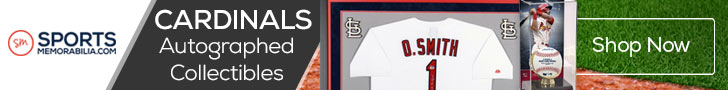 Shop for Authentic Autographed Cardinals Collectibles at SportsMemorabilia.com