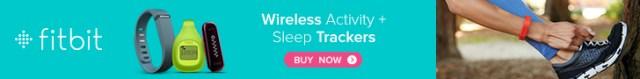 Fitbit wireless activity + sleep trackers (Fitbitaversary)