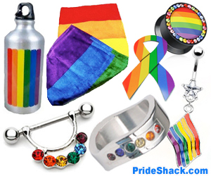 Gay Pride Items #2 (Square Banner)