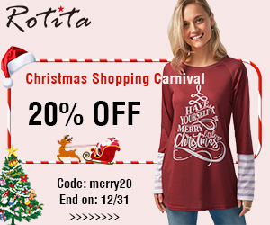 Christmas Shopping Carnival 20% Off, Code: merry20 End on: 12/31