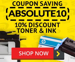Toner & Ink - 10% Discount Code