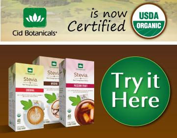 Cid Botanicals Real Organic Stevia