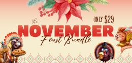 Get 20% OFF The November Feast Bundle