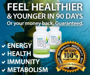 Sea Veg Whole Food Seaweed Supplement with Fucoidan