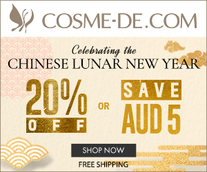 Celebrating the Chinese Lunar New Year. Save 20% or AUD 5 off.