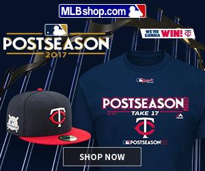 Minnesota Twins 2017 Postseason Gear