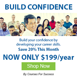 build confidence through online courses
