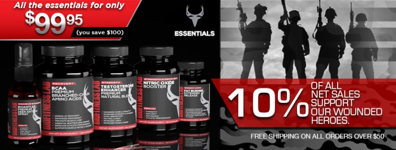 BioFitness Lab - High Performance Supplements & Athletic Apparel. Support our Wounded Heroes!