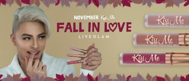 LiveGlam KissMe Monthly Lipstick Club - November Collection & Deals