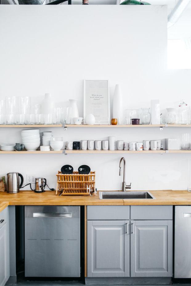 Kitchen Decor Shelves