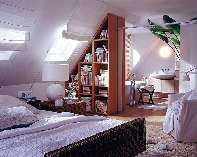 70 Cool Attic Bedroom Design Ideas