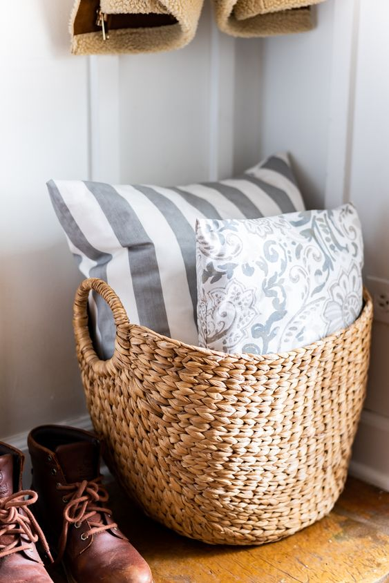 66 wicker baskets and cubbies ideas for