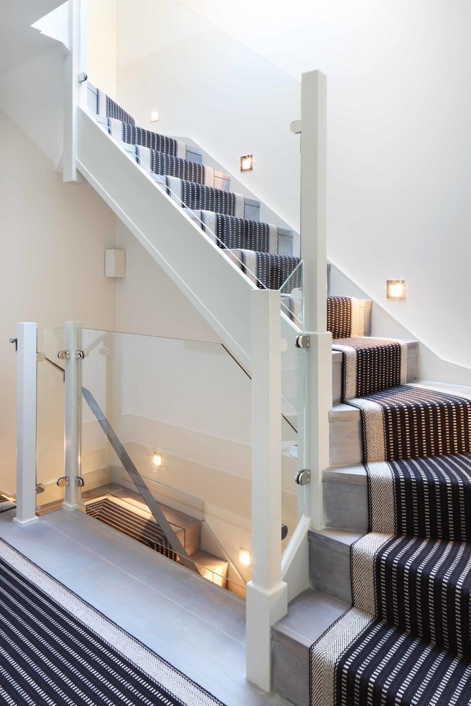 43 Cool Carpet Runners For Stairs To Make Your Life Safer Shelterness