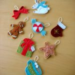70 Diy Felt Christmas Tree Ornaments Shelterness