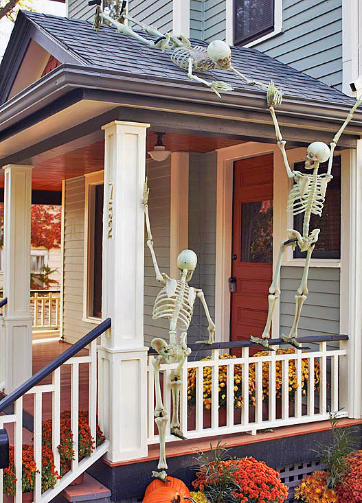 Fall Front Porch And Other Outdoor Decorating Ideas