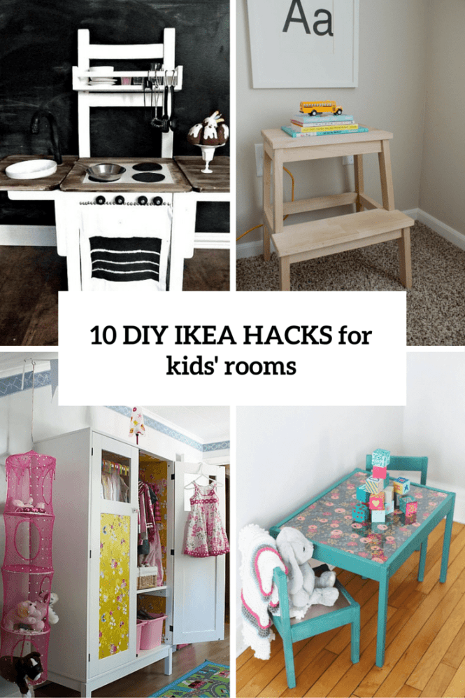 12 Diy Ideas For Kids Rooms Home Decor