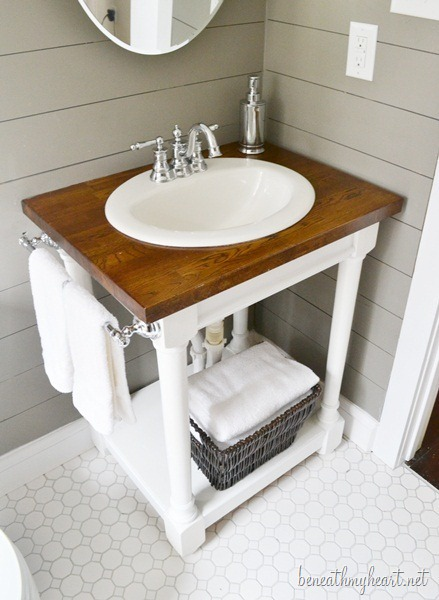 11 DIY Sink Bases And Cabinets You Can Make Yourself Shelterness