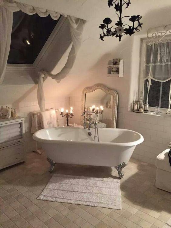 26 Adorable Shabby Chic Bathroom Dcor Ideas Shelterness