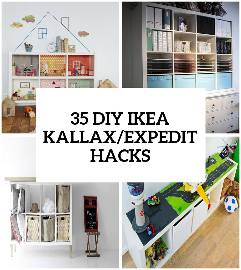 35 diy ikea kallax shelves hacks you